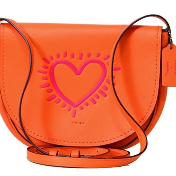 Coach x Keith Haring Leather Crossbody